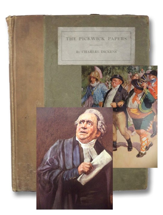 The Posthumous Papers of the Pickwick Club, Dickens, Charles