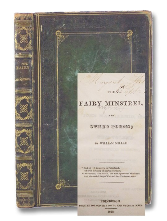 The Fairy Minstrel and Other Poems, Millar, William