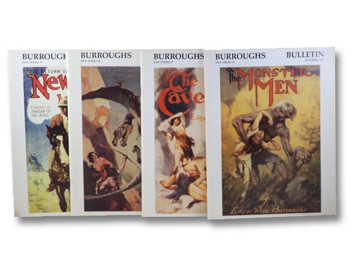 The Burroughs Bulletin, Number 5-8 of New Series: January, April, July, and October, 1991 [Edgar Rice Burroughs], Burroughs Bibliophiles; [Burroughs, Edgar Rice]
