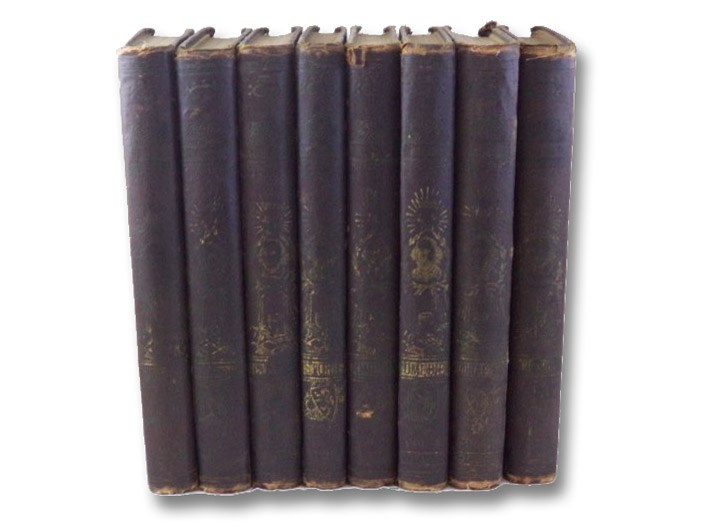 The Pictorial Edition of the Works of Shakspere., in Eight Volumes: Tragedies I & II; Histories I & II; Comedies I & II; Biographies I & II [William Shakespeare], Knight, Charles; Shakspere, William [Shakespeare]