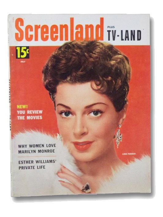 Screenland Plus TV Land Magazine July 1954 (Lana Turner Cover), Affiliated Magazines