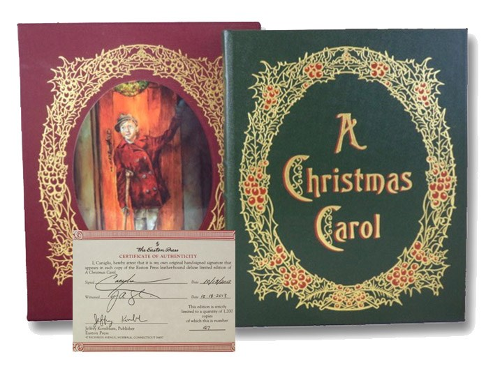 A Christmas Carol: Being a Ghost Story of Christmas (Signed Limited Edition), Dickens, Charles