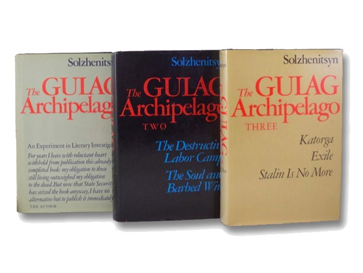 The Gulag Archipelago, 1918-1956: An Experiment in Literary Investigation, in Three Volumes: I-II: The Prison Industry, Perpetual Motion; III-IV: The Destructive-Labor Camps, The Soul and Barbed Wire; V-VII: Katorga, Exile, Stalin is No More, Solzhenitsyn, Aleksandr I.; Whitney, Thomas P.