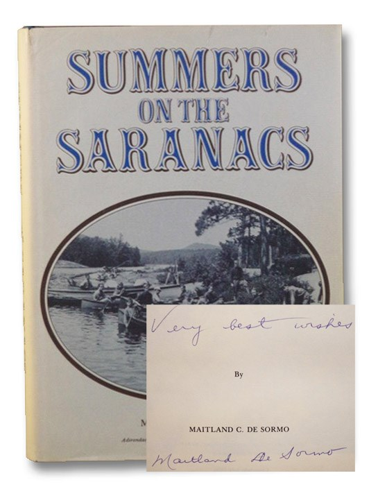 Summers on the Saranacs, De Sormo, Maitland C.