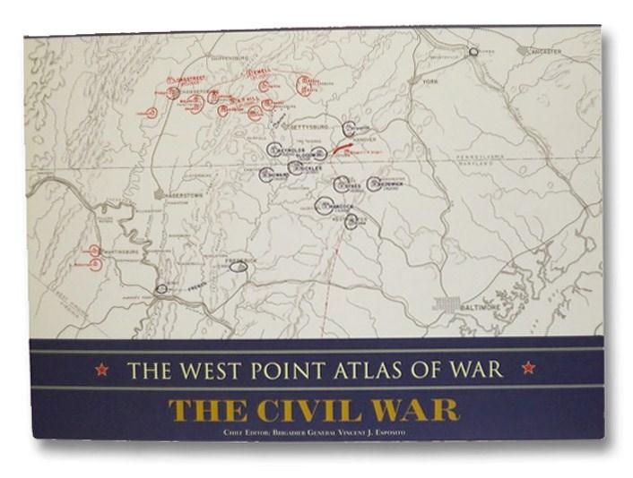 The West Point Atlas of War: The Civil War, Esposito, Vincent J.