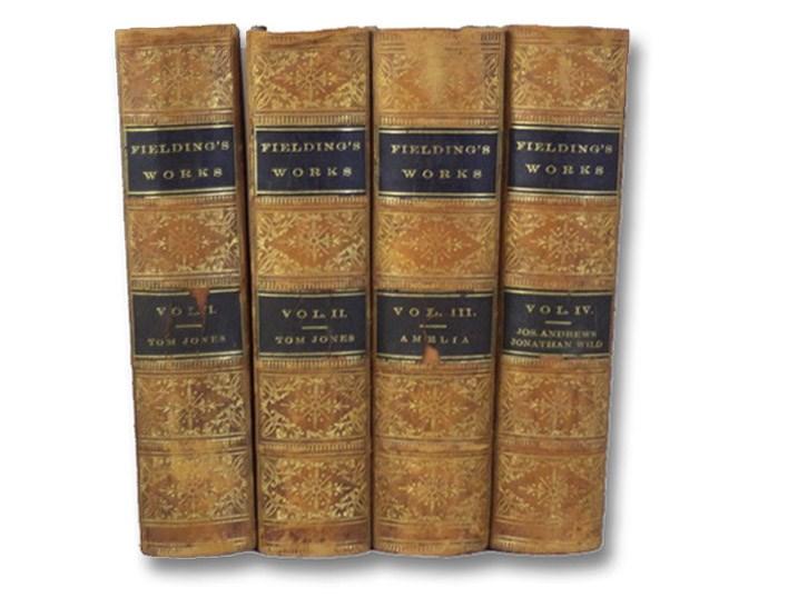 The Miscellaneous Works of Henry Fielding, in Four Volumes: Tom Jones. (2 Vols.); Amelia.; Joseph Andrews. Jonathan Wild., Fielding, Henry
