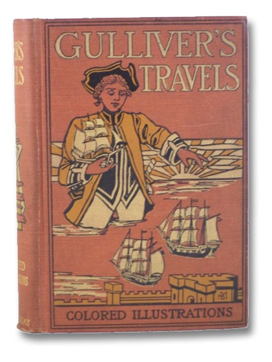 Gulliver's Travels into Several Remote Nations of the World (McKay's Colored Classics), Swift, Dean [Jonathan]; Waller, John Francis