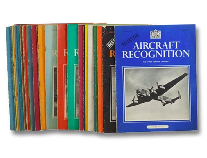 Aircraft Recognition, The Inter-Services Journal: 30 Volume Non-Continuous Run, Volume I, Number 2, October 1942 - Volume III, Number 11, July 1945