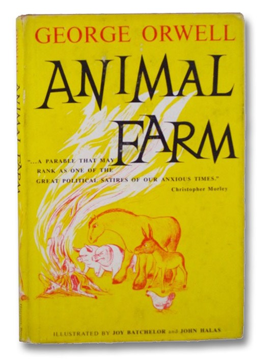Animal Farm [A Fairy Story], Orwell, George [Blair, Eric Arthur]