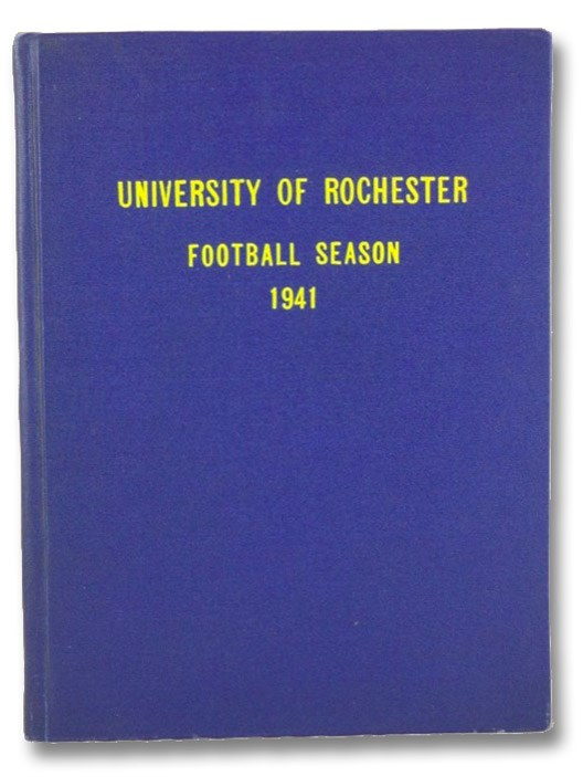University of Rochester: Football Season 1941, University of Rochester
