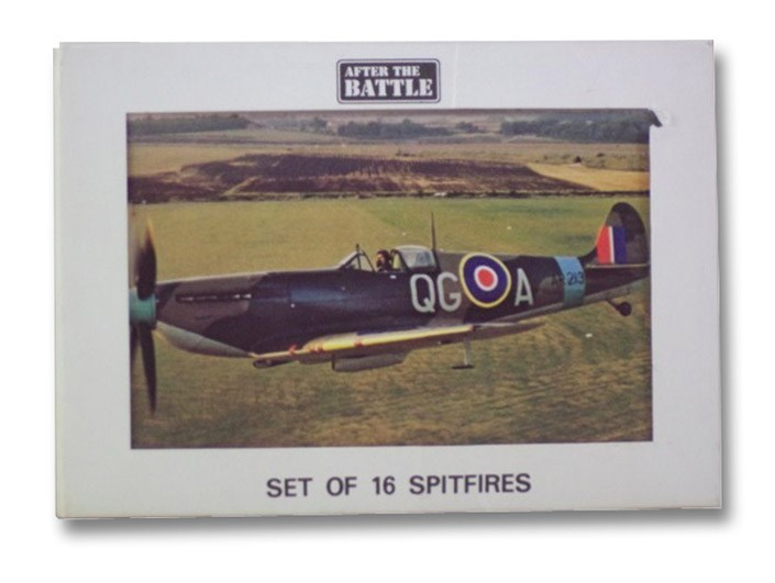 After the Battle: Set of 16 Spitfires, Postcard Set E7, After the Battle