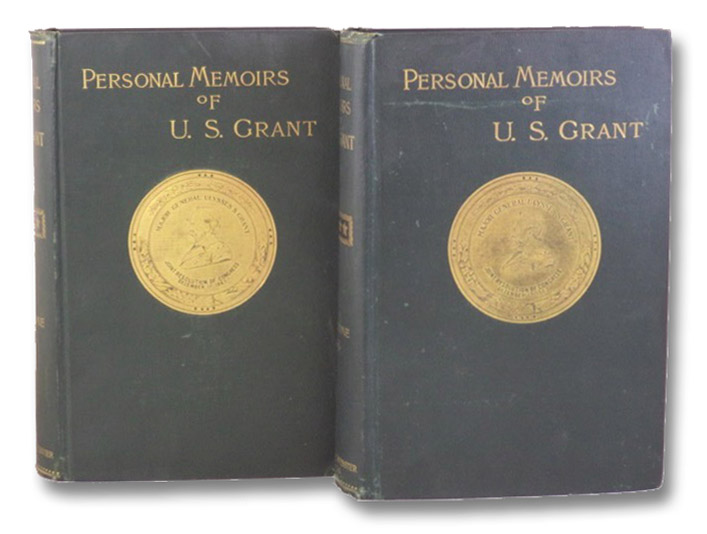 Personal Memoirs of U.S. Grant, in Two Volumes [Ulysses] [Shoulder Strap Edition], Grant, Ulysses S.