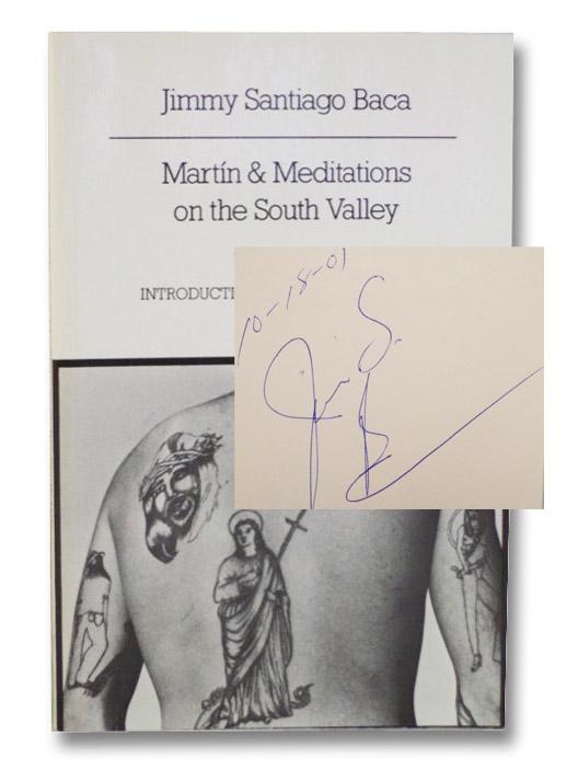 Martin & Meditations on the South Valley, Baca, Jimmy Santiago; Levertov, Denise