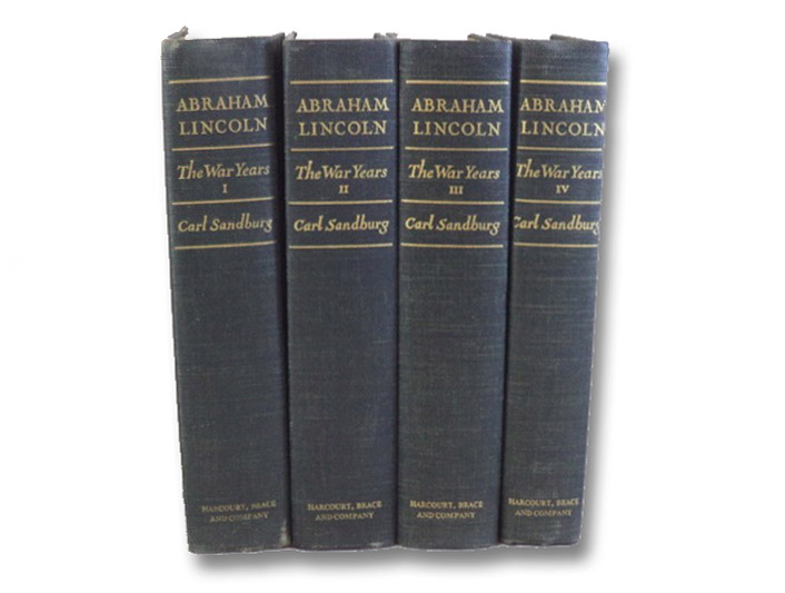 Abraham Lincoln: The War Years, in Four Volumes, Sandburg, Carl