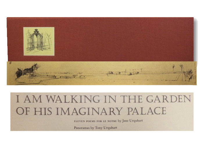 I Am Walking in the Garden of His Imaginary Palace: Eleven Poems for Le Notre, Urquhart, Jane