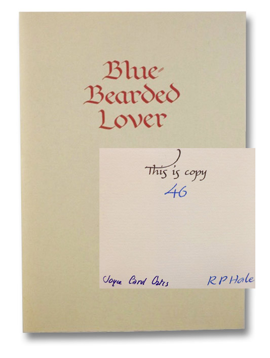 Blue-Bearded Lover, Oates, Joyce Carol