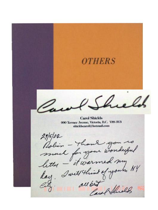 Others, Shields, Carol