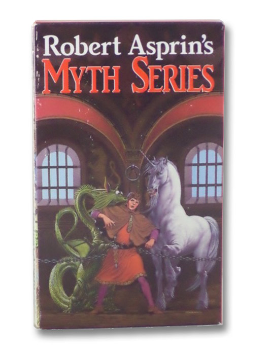 Myth Series 4-Volume Boxed Set (Another Fine Myth; Myth Conceptions; Myth Directions; Hit or Myth), Asprin, Robert