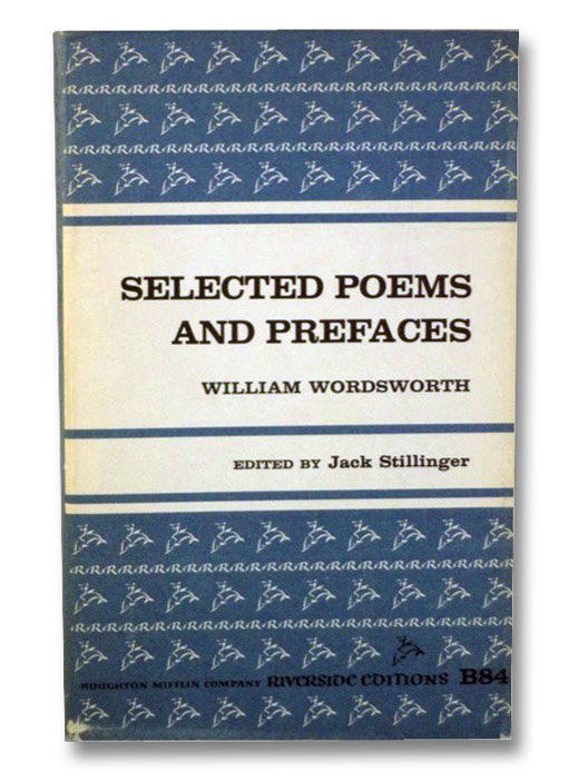 Image for Selected Poems And Prefaces (Riverside Edition)