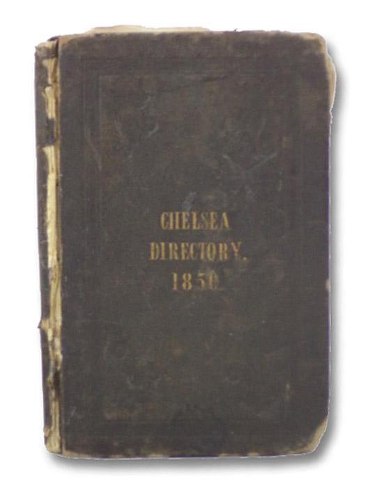 Chelsea Directory, 1850, Benj. Rivers