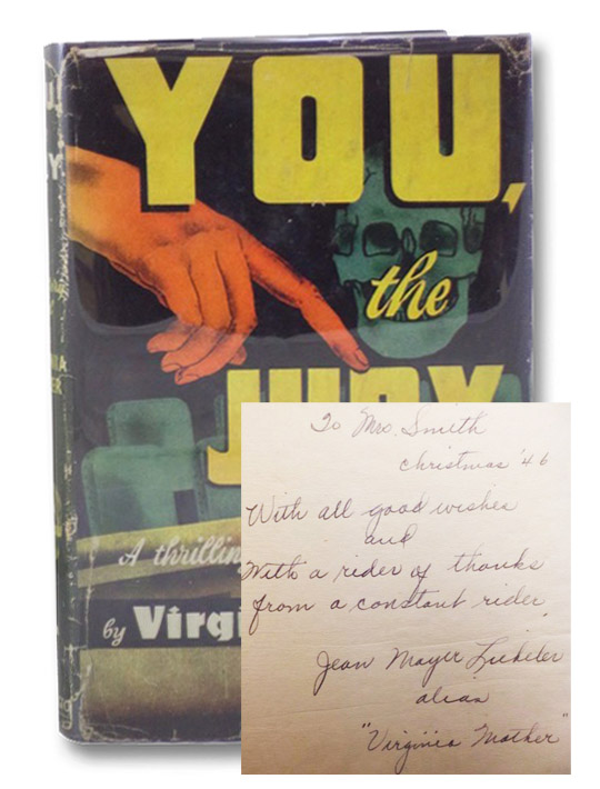 You, the Jury (A Thrilling and Unusual Mystery), Mather, Virginia