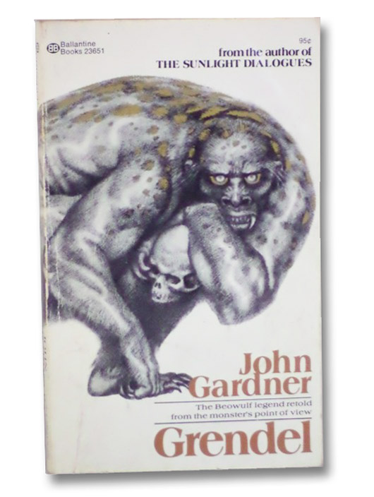 an analysis of grendel in john gardners book grendel John gardners grendel provides us with an in-depth look at the personality and mindset of a monster known to be an antagonist to mankind the reader is seeing the world through the eyes of grendel, giving the reader the feeling of having a very close relationship with him.
