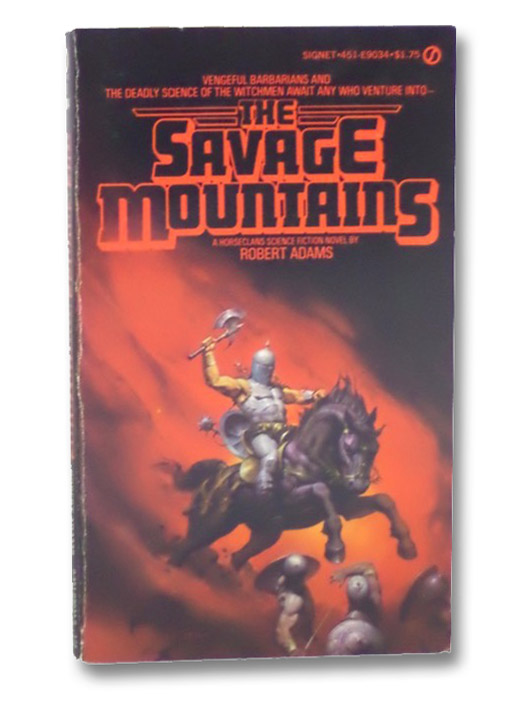 The Savage Mountains (Horseclans, No. 5), Adams, Robert
