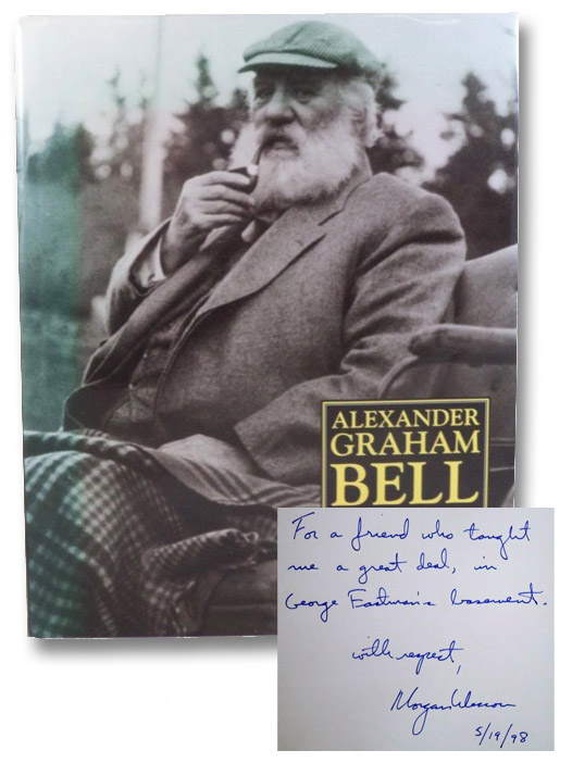 the life and times of alexander graham bell the inventor of telephone The hardcover of the alexander graham bell: the life and times of the man who invented the telephone by edwin s grosvenor, morgan wesson   at barnes.