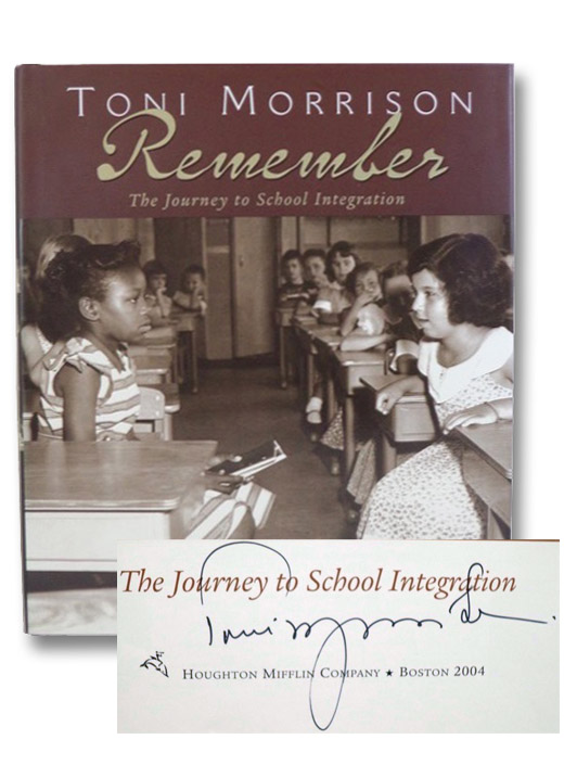 Remember: The Journey to School Integration, Morrison, Toni