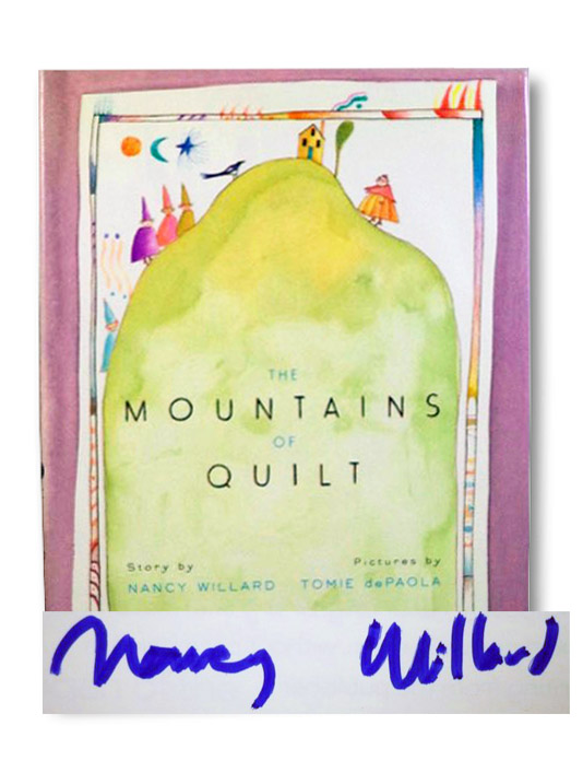 The Mountains of Quilt, Willard, Nancy