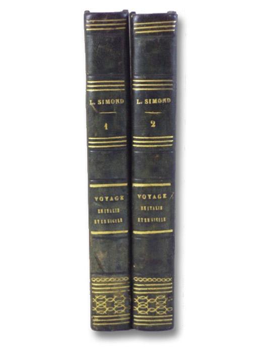 Voyage en Italie et en Sicile, Tome Premier et Second., Simond, L. [Louis]