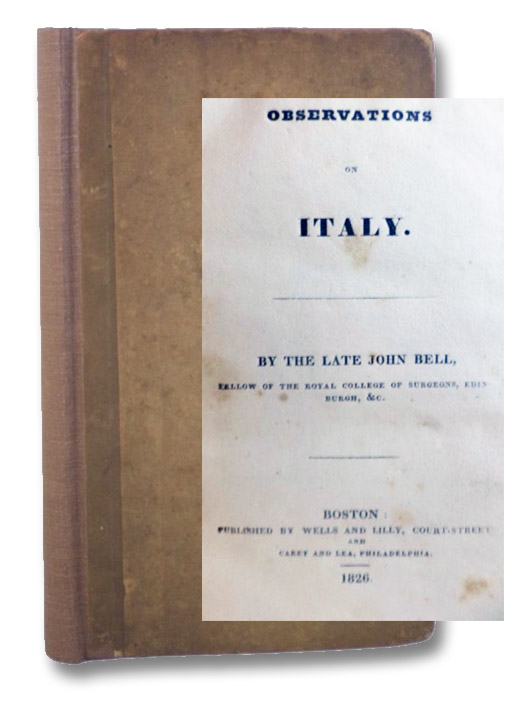 Observations on Italy., Bell, John