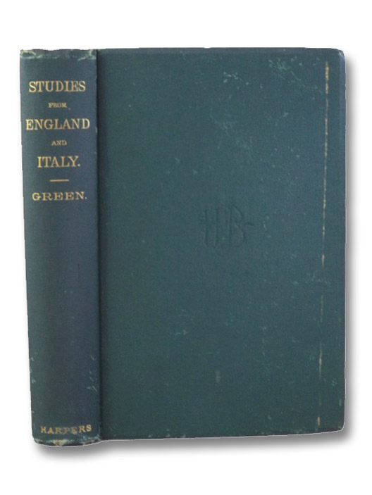 Stray Studies from England and Italy., Green, John Richard