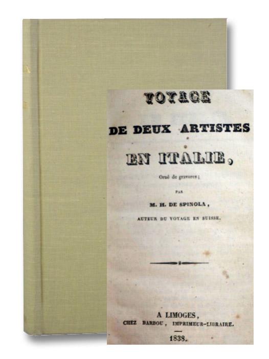 Voyage de Deux Artistes en Italie, De Spinola, M.H.