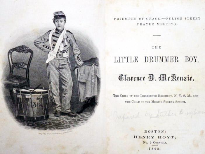 The Little Drummer Boy, Clarence D. McKenzie [Mackenzie], [Bingham, Luther Goodyear; McKenzie, Clarence D.]