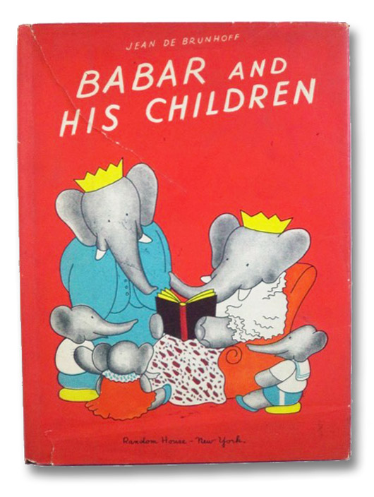 Babar and His Children, De Brunhoff, Jean; Haas, Merle S. (Translator)