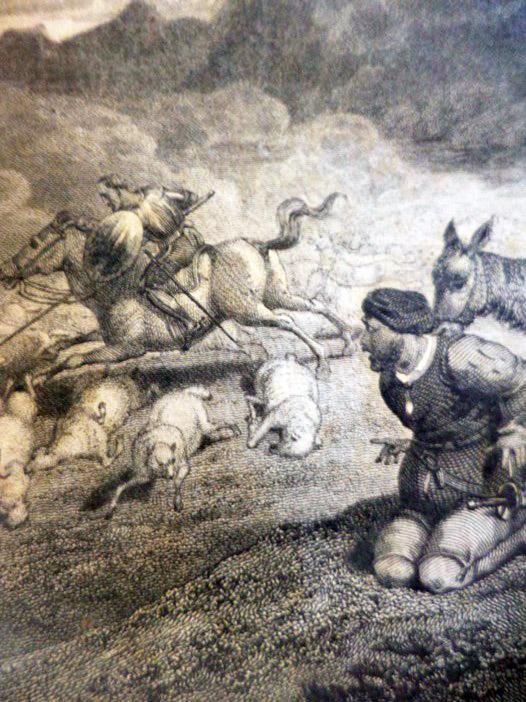 The Life and Adventures of Don Quixote de la Mancha. A New Edition in Four Volumes. [Parts I & II], Cervantes [Saavedra], Miguel de