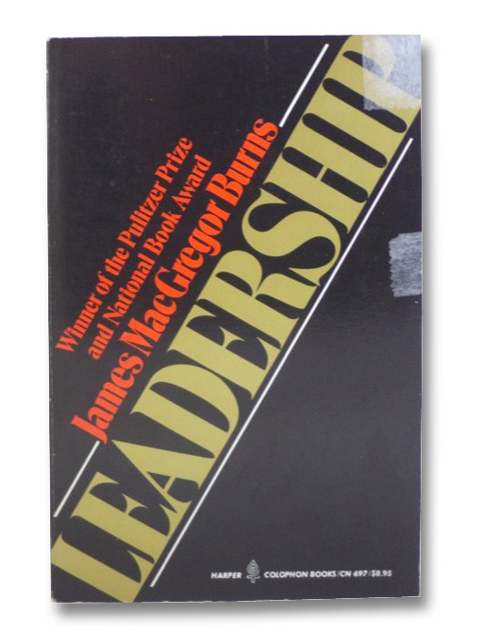 Leadership (Harper Colophon Books/CN697), Burns, James MacGregor