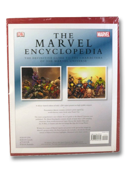 The Marvel Encyclopedia: The Definitive Guide to the Characters of the Marvel Universe, Wallace, Daniel; Brevoort, Tom; Darling, Andrew J.; DeFalco, Tom; Sanderson, Peter; Teitelbaum, Michael