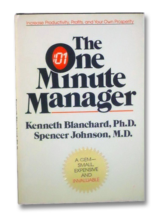 summary on the book one minute manager by kenneth blanchard an spencer johnson The new one minute manager offers powerful advice on time management in the new one minute manager, the management specialist ken blanchard and the communication expert spencer johnson provide an updated approach to management for our contemporary globalized world.