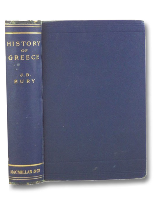 A History of Greece to the Death of Alexander the Great, Bury, J.B.