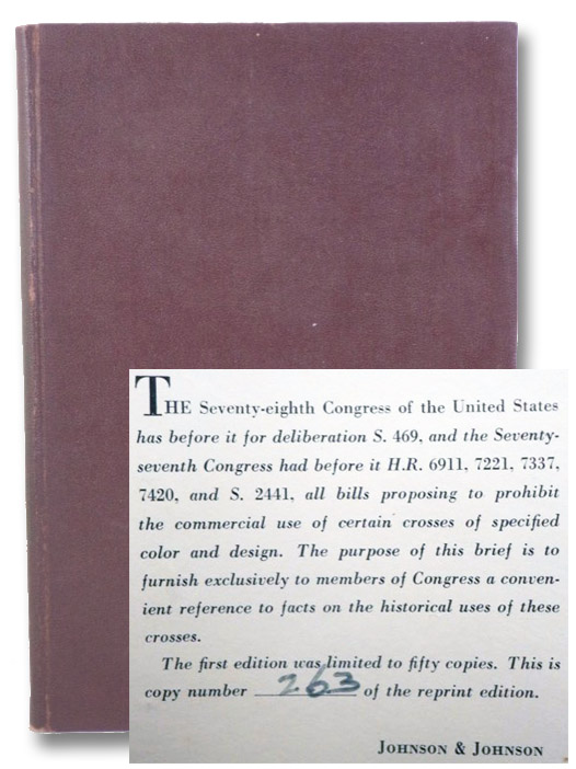 Brief on Historical Use of the Symbol and Words 'Red Cross', Johnson & Johnson