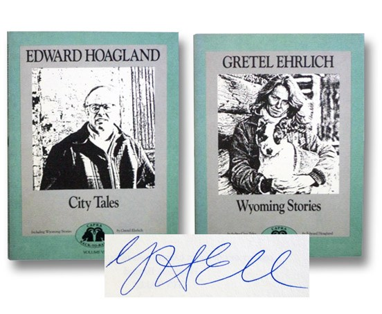 City Tales [with] Wyoming Stories (Capra Back-to-Back Volume VI [6]), Hoagland, Edward; Ehrlich, Gretel