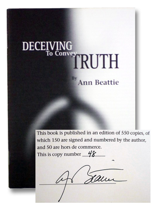 Deceiving to Convey Truth, Beattie, Ann