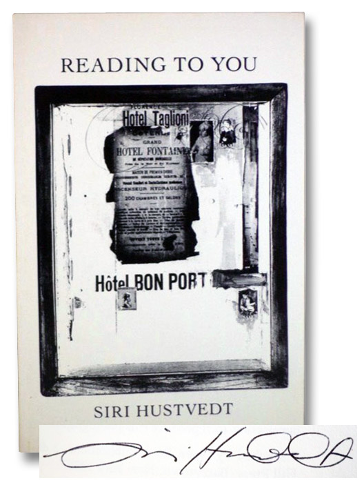 Reading to You: Poems, Hustvedt, Siri