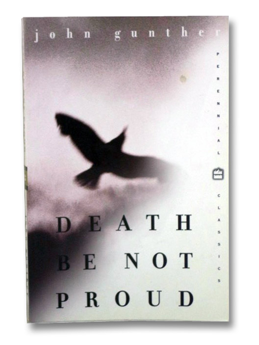 Death Be Not Proud: A Memoir, Gunther, John