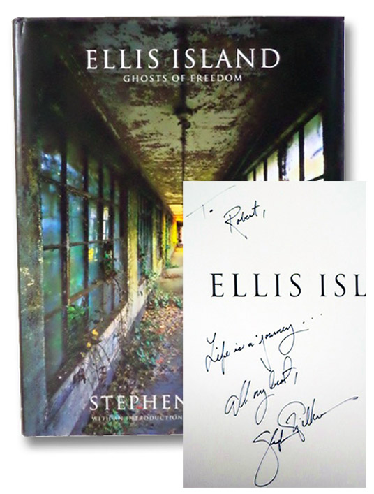 Ellis Island: Ghosts of Freedom, Wilkes, Stephen; Bradley, Senator Bill