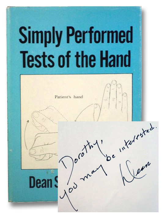 Simply Performed Tests of the Hand, Schamber, Dean