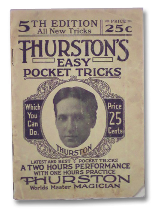 Thurston's Easy Pocket Tricks: The A-B-C of Magic (Book 5 in Series), Thurston, Howard