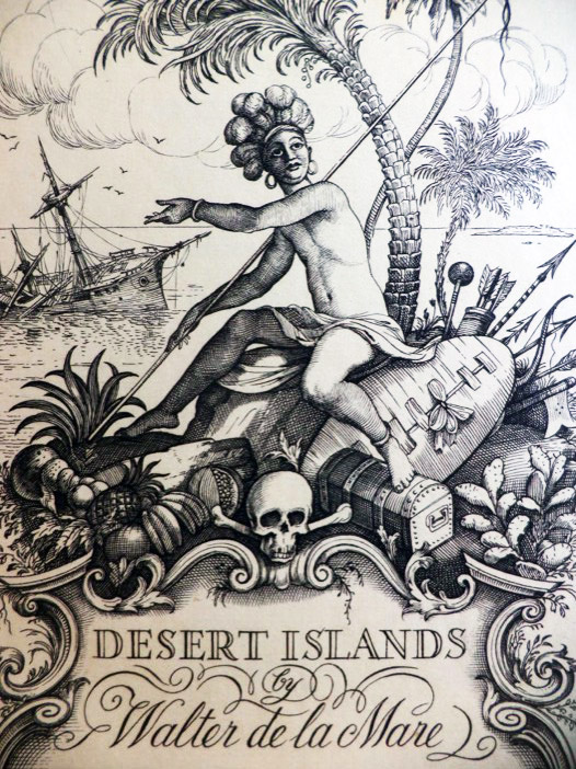 Desert Islands and Robinson Crusoe, de la Mare, Walter